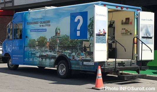 camion KitMobile tourisme Beauharnois-Salaberry 8 juin 2017 Photo INFOSuroit