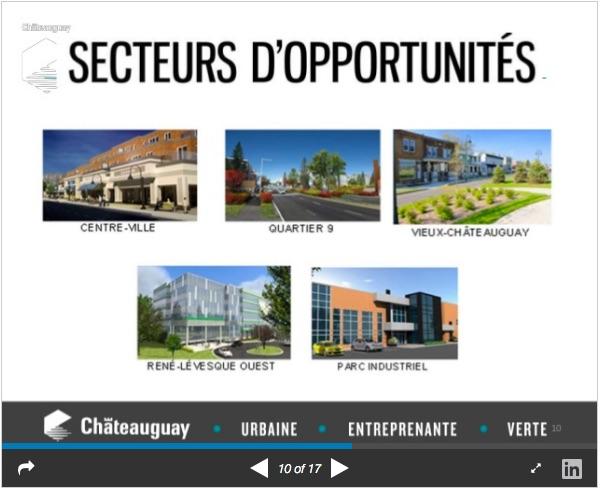 chateauguay presentation 20juin2017 tableau secteurs opportunites