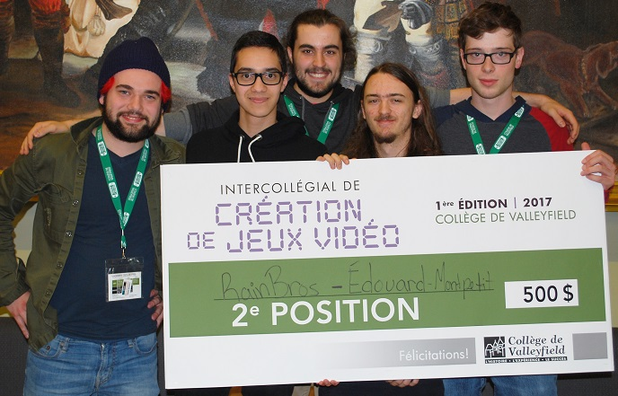 intercollegial jeux video 2017 equipe argent cepeg Edouard-Montpetit Photo ColVal