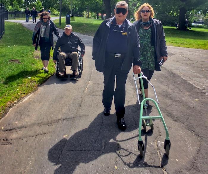 journee sensibilisation personnes handicapees a Valleyfield JLPomerleau photo courtoisie