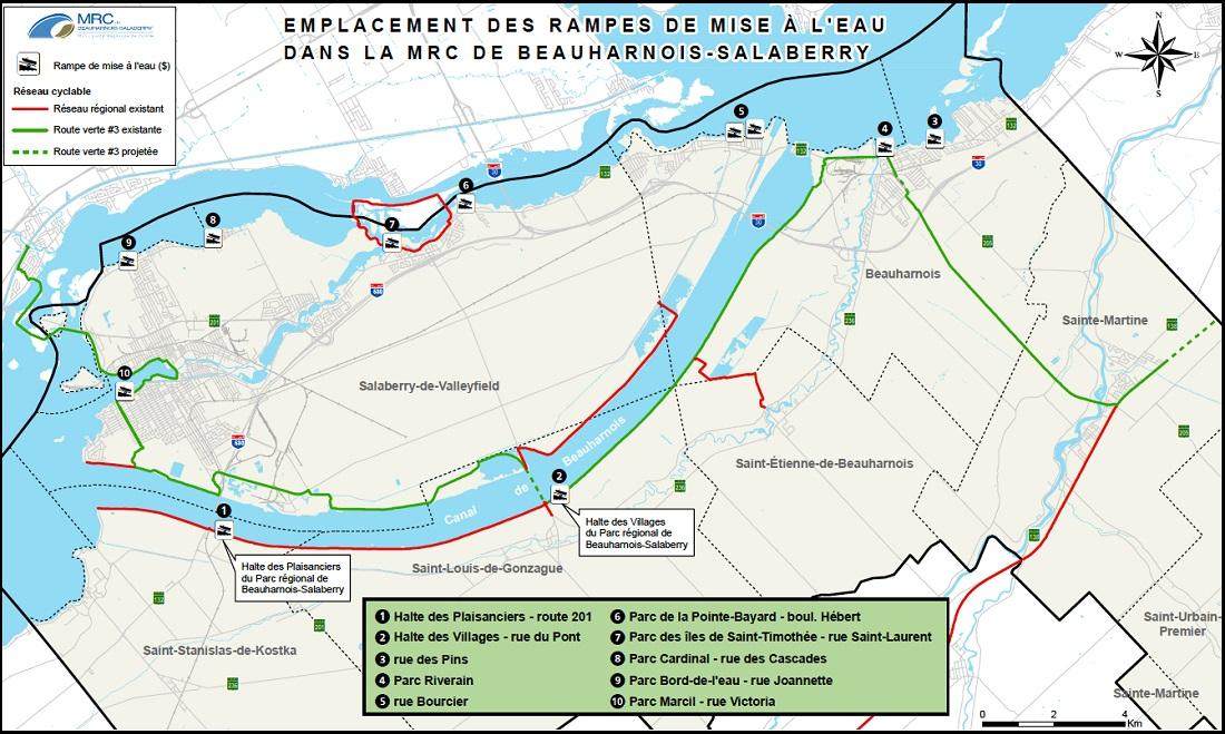 rampes-mise-a-l-eau bateaux-MRC-Beauharnois-Salaberry-carte-courtoisie