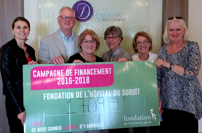 residence Dufferin spaghetti benefice fondation hopital Suroit Photo courtoisie
