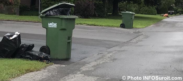 sacs-poubelles bacs roulants Salaberry-de-Valleyfield Photo INFOSuroit