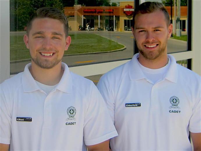 Antoine_Menard et Simon_Dubuc-Perras cadets SQ avec Securi-Parc Photo via MRC