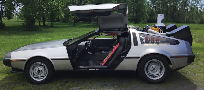auto collection DeLorean sera exposition a Chateauguay Photo courtoisie VC