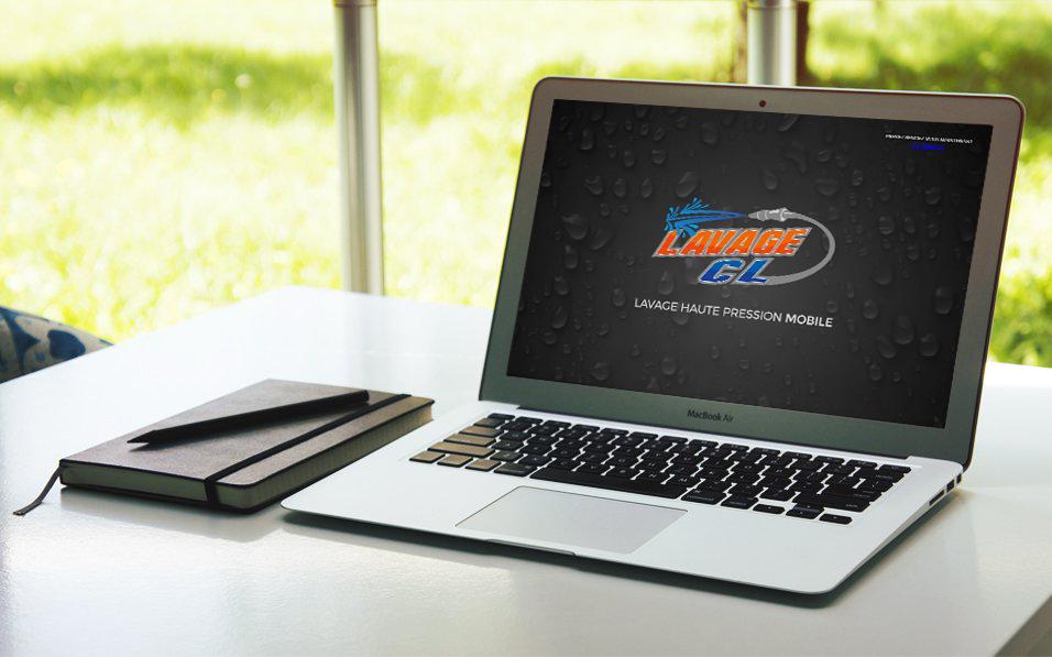 Lavage_CL ordinateur et logo Image courtoisie