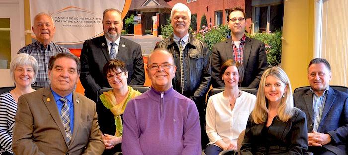 Maison Soins palliatifs VS membres conseil de la fondation Photo courtoisie MSPVS