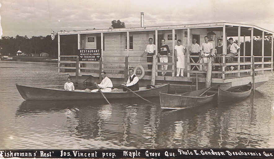Resto_sur_l_eau Beauharnois Photo ElieGendron Collection_MauriceFortier Photo via MarcelLabelle