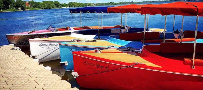 bateaux electriques canadien a Valleyfield 5 et 6 aout Photo courtoisie