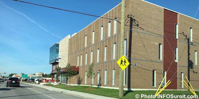 bureaux du CLD et MRC Vaudreuil-Soulanges sur boulevard Harwood Photo INFOSuroit