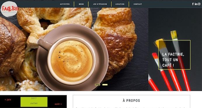 capture ecran nouveau site Web LaFactrie