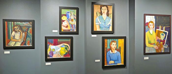 exposition oeuvres artiste Lucyl_Martel Musee Regional VS Photo Bernard_Bourbonnais