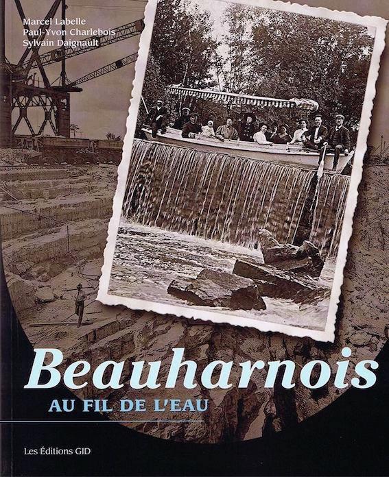 livre 2017 Marcel_Labelle Beauharnois_au_fil_de_l_eau couverture