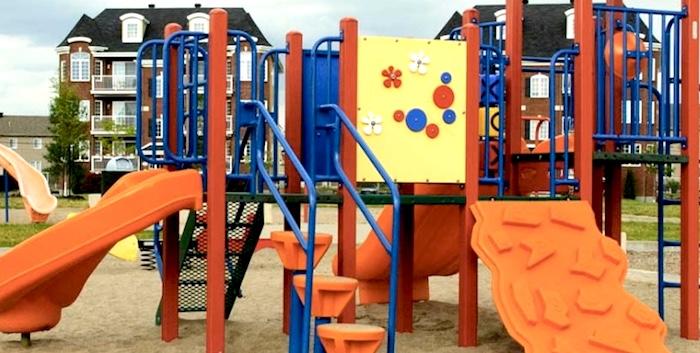 module jeux enfants parc Ville Vaudreuil-Dorion photo courtoisie VD