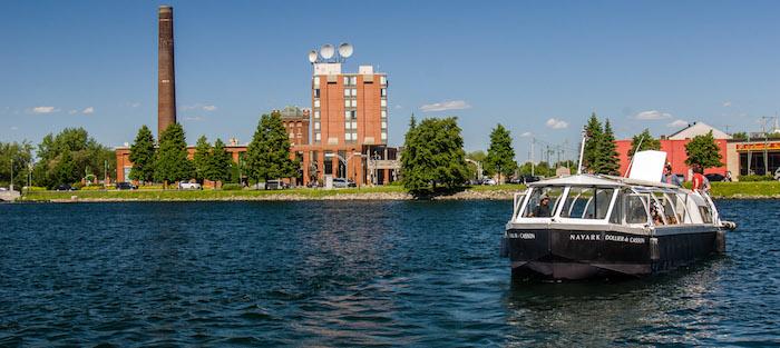 navette bateau Navark croisieres Valleyfield lac hotel Photo via CLDBhS