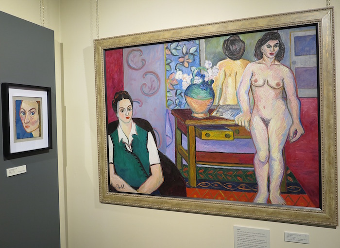 L_atelier oeuvre controversee de LucylMartel annees 40 au MuseeRegionalVS Photo Bernard_Bourbonnais