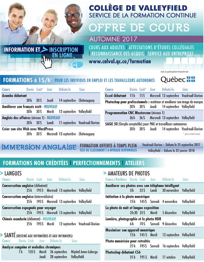 CollegeValleyfield-formation_continue-offre_de_cours-automne2017-page1