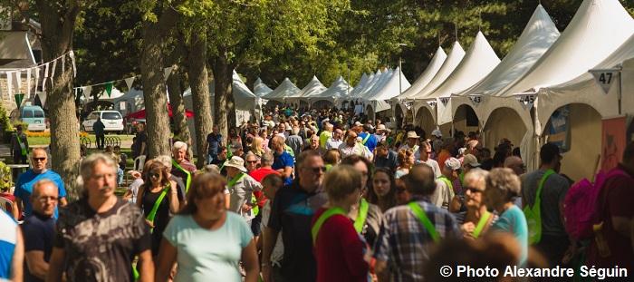 Ecomarche de l_ile St-Bernard Chateauguay 2017 visiteurs succes kiosques Photo ©AlexandreSeguin via HSB