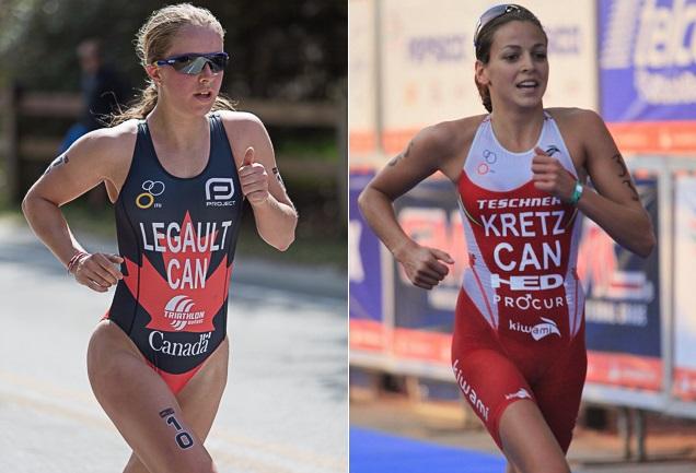 Emy_Legault et Amelie_Kretz seront au TriathlonValleyfield Photos courtoisie TV