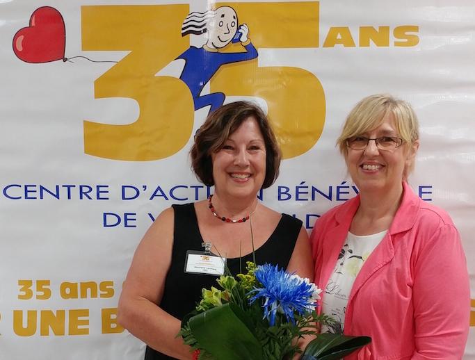 Marjolaine_Larocque et Line_Desrochers Photo courtoisie CAB de Valleyfield
