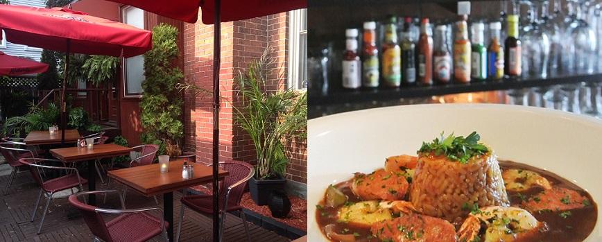 Restaurant Nouvelle-Orleans terrasse repas Photos courtoisie via CLD