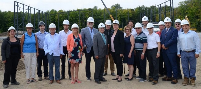 Sportplex Beauharnois-Chateauguay membres du ca de la regie et experts Photo courtoisie