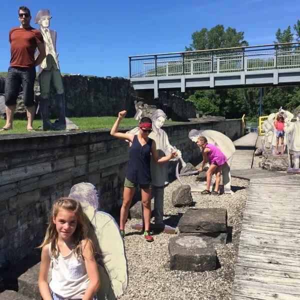 Tourisme LesRichardExplorent lieu historique Coteau-du-Lac Photo Kinescope via CLDVS