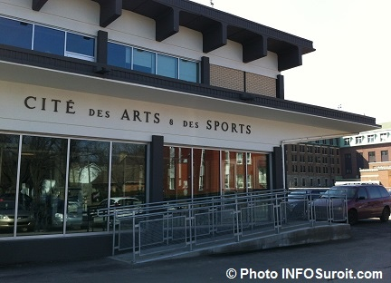 cite des arts et des sports a Valleyfield Photo INFOSuroit