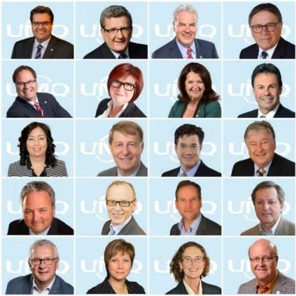 des maires du Quebec qui seront a Valleyfield en septembre Photo courtoisie SdV