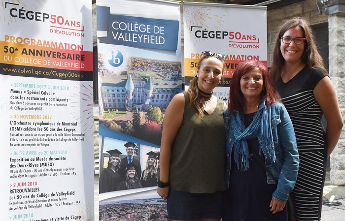 programmation 50 ans cegep College Valleyfield MTheoret SGrondin et AMLefebvre Photo ColVal