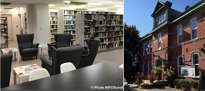 Bibliotheque Ste-Martine Photo INFOSuroit et Edifice_du_Comte Photo courtoisie Ste-Martine