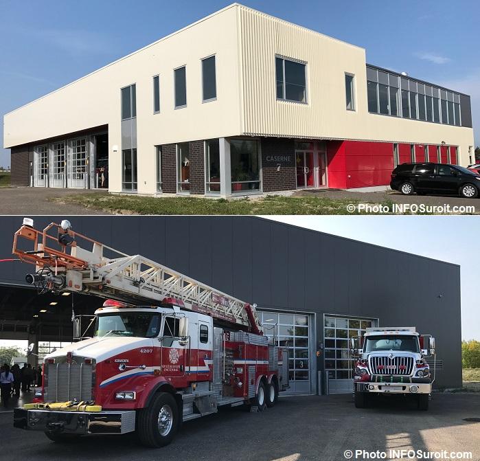 Caserne pompiers securite incendie Rigaud sept2017 Photos INFOSuroit