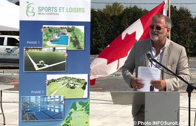 Claude Haineault maire Beauharnois 15sept2017 Photo INFOSuroit