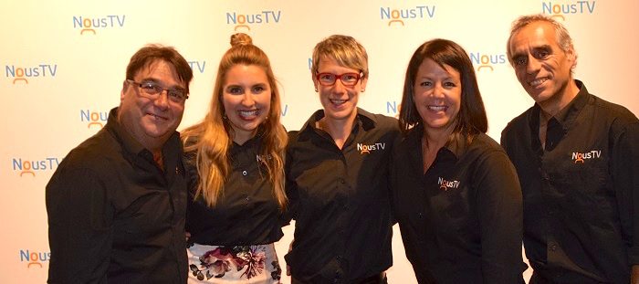 Lancement NousTV Valleyfield a LaFactrie Photo courtoisie