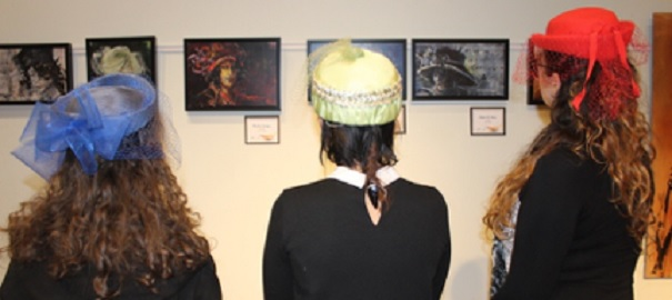 MUSO musee a Valleyfield exposition chapeaux et ateliers de creation Photo courtoisie MUSO