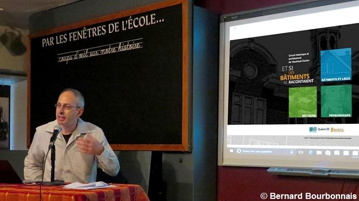 Sebastien_Daviau presentation circuitvd Photo Bernard_Bourbonnais via MRVS