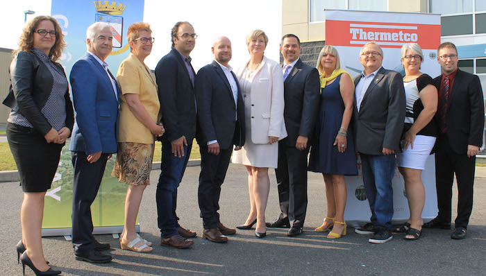 annonce arrivee Thermetco a Chateauguay Photo courtoise Ville Chateauguay