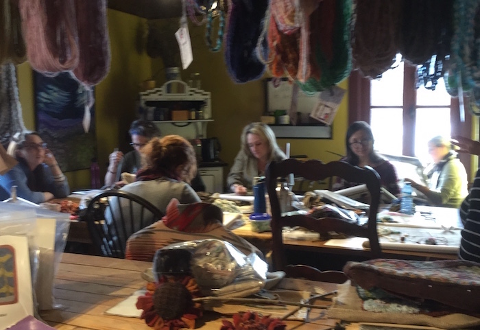 atelier cours tricot laine Ranch Alpaga_Ourse_qui_danse Photo via CLD