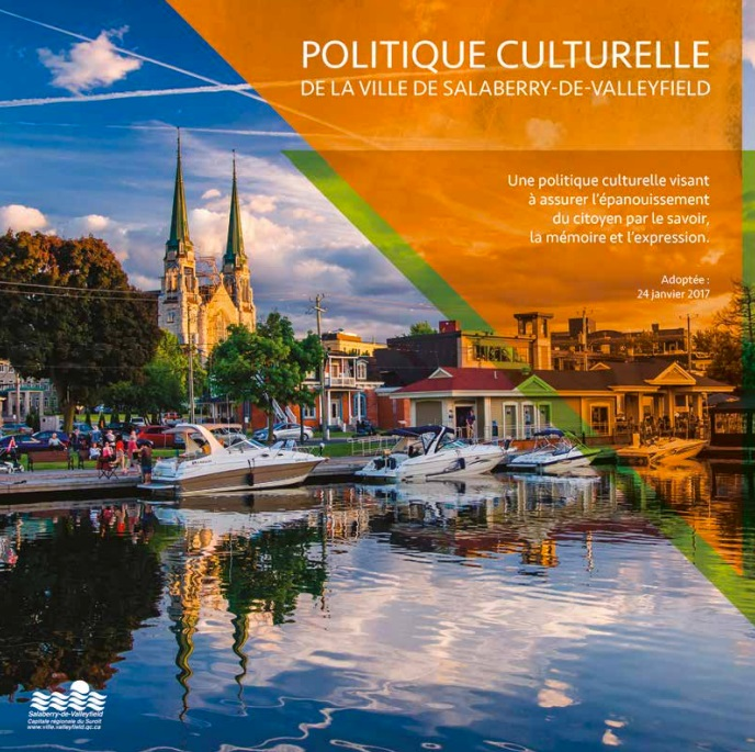brochure Politique culturelle 2017 Ville Valleyfield