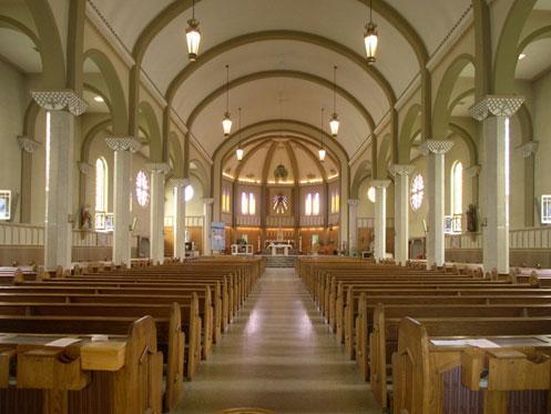 eglise Sacre-Coeur-de-Jesus Valleyfield Copyright photo Conseil du patrimoine religieux du Qc courtoisie CPAQ