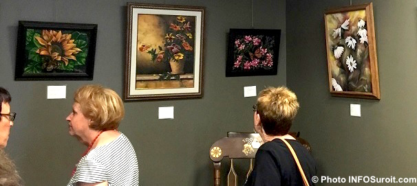 exposition MBlondin et MLaframboise MRC galerie art Photo INFOSuroit