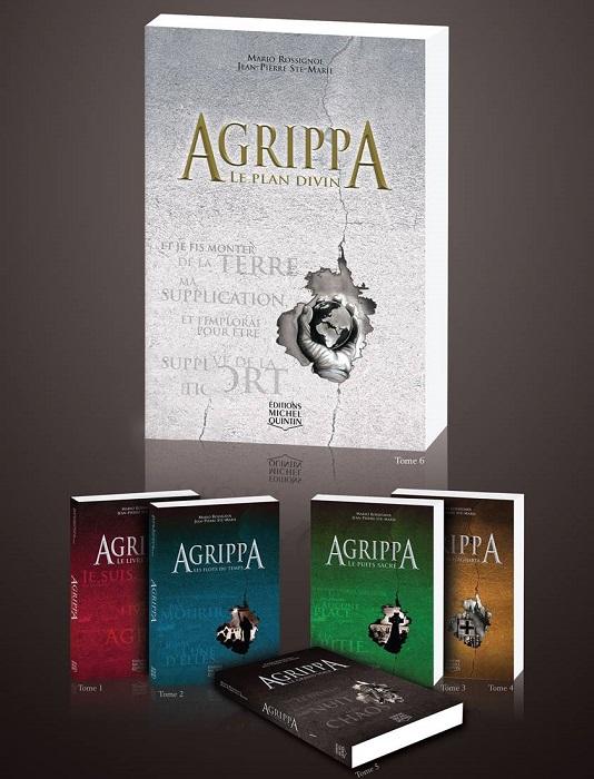 livres Agrippa serie tomes Photo courtoisie
