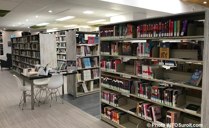livres nouvelle bibliotheque Saint-Martine Photo INFOSuroit