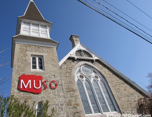 musee MUSO a Valleyfield enseigne facade Photo INFOSuroit
