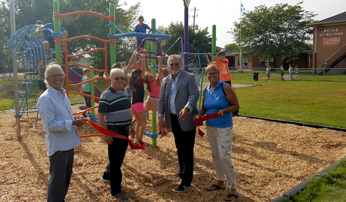 parc St_Eugene Beauharnois inauguration module_jeux 2017 Photo courtoisie