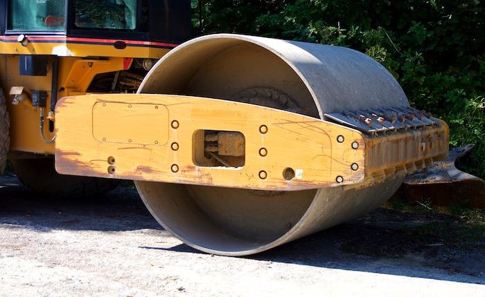 pavage asphalte rouleau compacteur Photo Piro4D via Pixabay CC0
