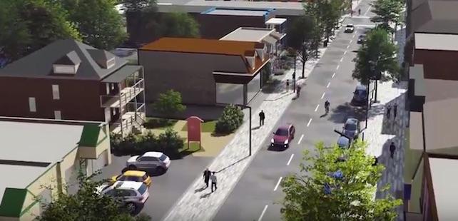 projet reamenagement rue Ellice Beauharnois extrait video courtoisie VB