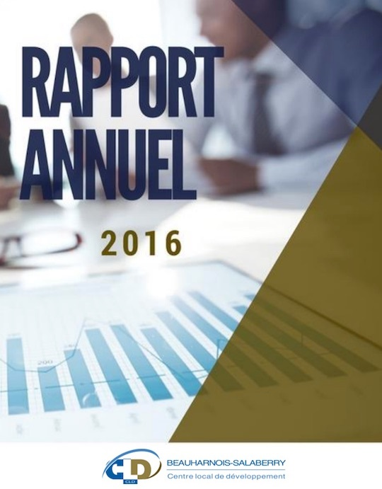 rapport annuel 2016 CLD Beauharnois-Salaberry page couverture