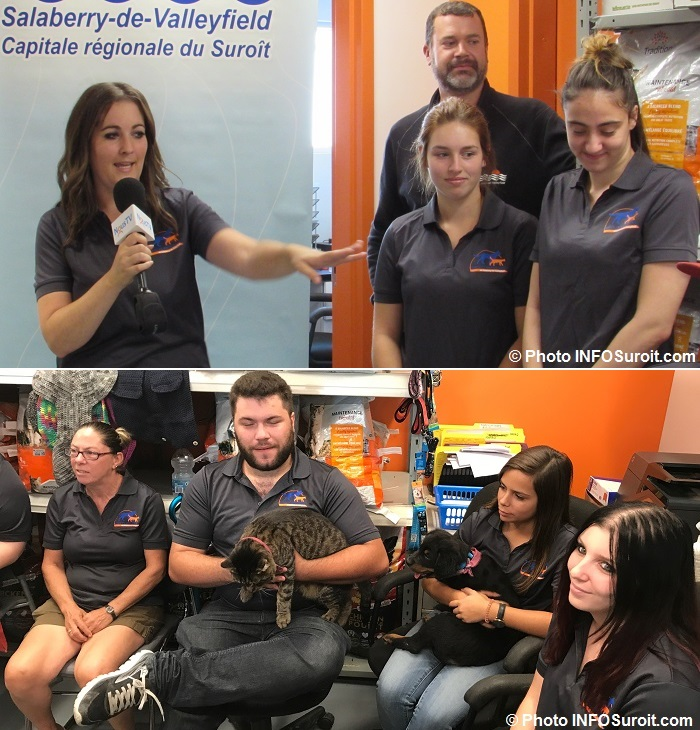 services animaliers Valleyfield Josee_Bilodeau et employes 19sept2017 Photos INFOSuroit