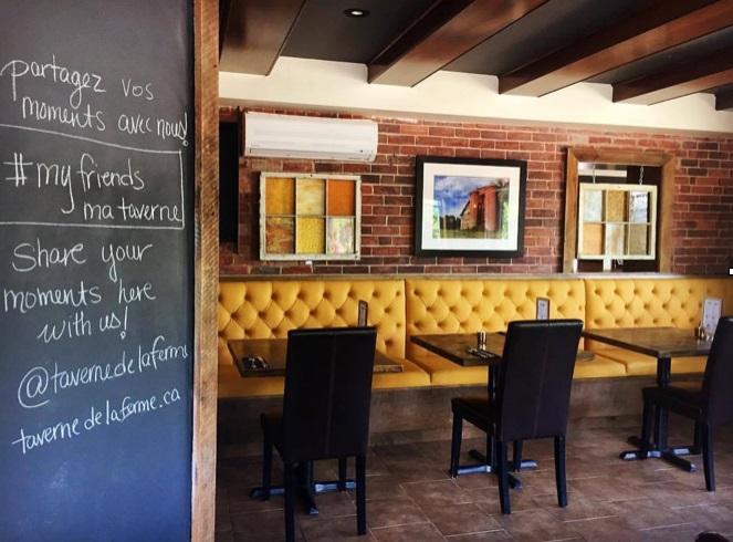 taverne_de_la_ferme Ormstown interieur Photo via CLD